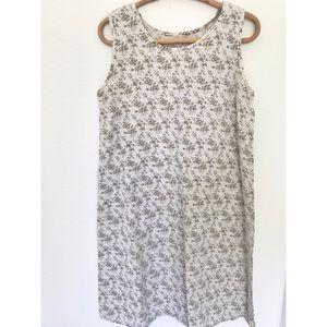 Vintage A Line Floral Dress